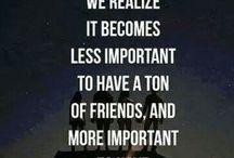 Friends... / That's true!!