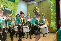 Musikcorps Kölner Husaren grün gelb