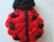 Crafts / Cute little crochet ladybug...so easy!