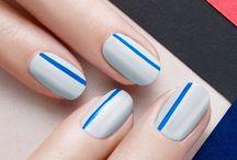 Jednoduchý nailart / Nejste zrovna umělec, ale chcete mít hezké nehty? Vybrali jsme pro vás tipy s jednoduchou přípravou, které i tak vypadají skvěle.