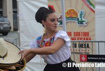 Celebración de las Fiestas Patrias de México en Barcelona / Los mexicanos que viven en Cataluña llegaron desde muy temprano a celebrar las fiestas patrias de su país. Se presentaron mariachis,artistas y lo mejor de la gastronomía mexicana.