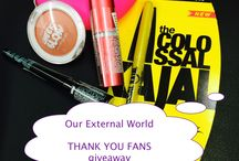 THANK YOU FANS Giveaway at Our External World