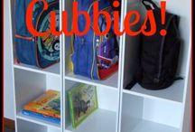 kids cubbies