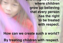 Respecting Kids / Children deserve to be trusted, to be respected, and to be treated as the autonomous people they are who are living their real lives. Respecting kids autonomy is the right thing to do. See the rest of my boards here: https://www.pinterest.com/IssaWaters/