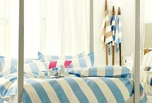 Coastal Bedrooms / Bedrooms with a coastal, nautical and beach theme.  / by Completely Coastal