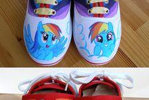 cipő diy