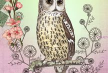 Owls / by Michelle Greathouse