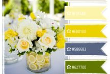 Color scheme flowers