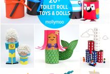 toilet roll dolls