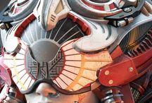 Cyberpunk futuristic world @tattoo