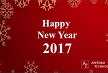 New Year 2017 / AppZoro Technologies wishes you a Happy New Year 2017