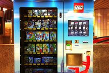 Vending machines / Yes it's strange but I like the variety of things that can be found in vending machines