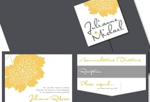 Wedding invites / by Coral Monson