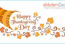 Festive Wishes / I wish all our followers and pinners a Happy Thanksgiving. Stay Blessed! http://www.emoderndecor.com/