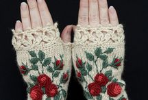 Gloves & Mittens / Crochet and knitted gloves, mittens and hand warmers.
