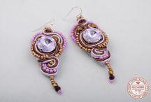 Soutache Earrings - by Accessories for Stars / http://accessoriesforstars.blogspot.ro/