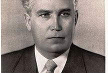 Frol Romanovich Kozlov / Frol Romanovich Kozlov ( 1908 – 1965) was a Soviet politician, and a Hero of Socialist Labor (1961).Was considered Khrushchev's likely successor.   Kozlov's position had been undermined by the effects of his alcoholism; in the spring of 1963 he was replaced by Leonid Brezhnev as Secretary of the Communist Party Central Committee. At the time of his removal, Kozlov had already suffered a stroke, and he died shortly after his removal from office.He was buried in the Kremlin Wall Necropolis