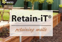 Retaining Walls / Easy to build retaining walls with Retain-iT