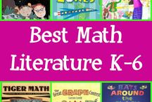 """Math & Literacy Connections / I think it is very important to make authentic connections between literacy and mathematics.  As I always like to say, """"You can take the math out of literacy but you can't take the literacy out of math!"""""""