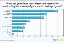 Infographics on Social Media Success Insights