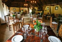 Bush Luxury / Accommodation & dining in the African bush.