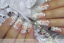 svatební nehty
