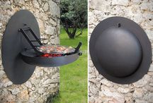 fold away barbecue