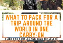 Travel Tips / Money Saving Tips, Travel Hacking, and how to stuff everything into one bag. Check out what these experts have to say.