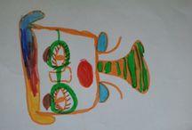 Designs by Biniyam / Galleria di disegni di mio figlio Biniyam