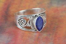 Sapphire Gemstone Ring in Silver