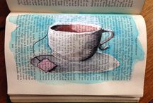 Altered Books / Old books used as creative journals
