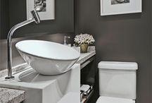 Toaletes / Banheiros e exemplos de banheiros