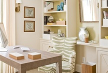 home office / fabulous interior design ideas for your home office----it doesn't have to be a separate room----just a corner will do