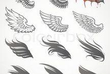 aniele skrzydła