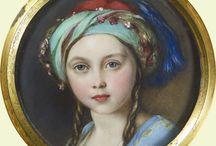 арт детский портрет