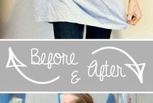 Repurpose clothes! / by Kayla Ahearn