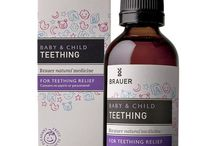 Brauer // Baby & Child / One of the world's most soothing traditional remedies, you can trust gentle Chamomile to provide temporary relief from your bub's pain, discomfort and irritability.  Gentle Chamomile is used in the Brauer Baby & Child range, to help with the symptoms of Cold & Flu, Colic, Cough, Eczema, Pain and Fever.