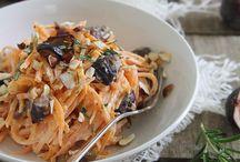 Pasta & Noodles / Easy pasta meals using regular noodles or gluten free noodles.