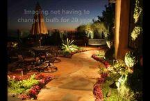 Landscape lighting effects for Orange County