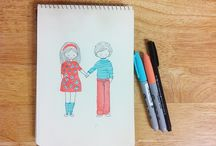 illustrations // Aileen Kim / original illustrations by Aileen Kim aileenkim-art.tumblr.com / by Aileen Kim
