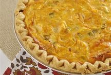 Food- quiche / by Amy Overbeck