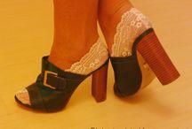 Lingerie para os pés / Meias rendadas d'As moças que costuram. Fabricadas no Brasil as meias de renda Pés de anjo rendados podem ser enviados para todo o Brasil. Encomendas por email para asmocasquecosturam@gmail.com