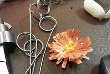 Silk Cocoon Rings - Δαχτυλίδια από Κουκούλια / Rings handmade from silk cocoons