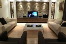 tv muur living rooms