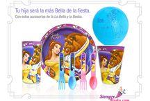 Fiesta de la Bella y Bestia / Ideas y artículos para tu fiesta de Bella y Bestia de Disney.