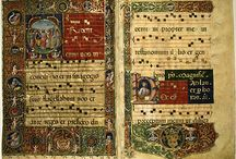 Music scores medieval and Renaissance