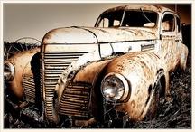 Car longtemps♣️ / La bellezza di una foto raccolta in un auto abbandonata all'usura del tempo!!!!!