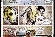 Line Art & Comics / Art from around the web!