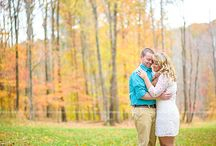 Bedford Virginia Engagement / Styled fall engagement session in Bedford Virginia.