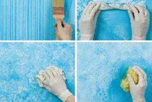 Muren sauzen met effecten
